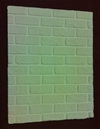 Unpainted Brick Effect Fire Back Panel