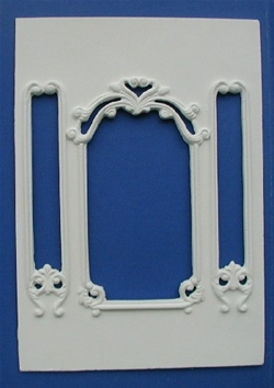 Grand Overmantle with Mirror - WP105