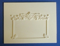 Ornate Overmantle Wall Panel - MN56b